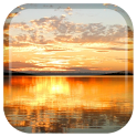 Sunset Lake Live Wallpaper icon