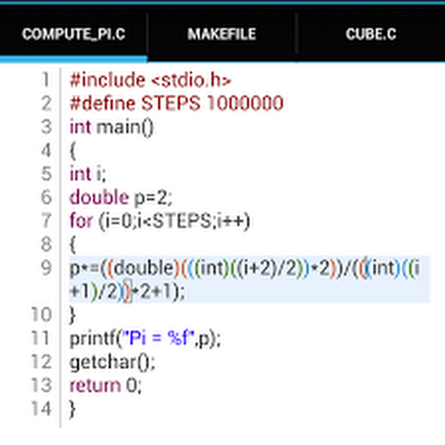 C4droid (CC++ compiler & IDE) v4.11 Apk Android AppPC10 ...