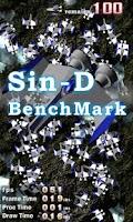 Screenshot of Sin-D BenchMark