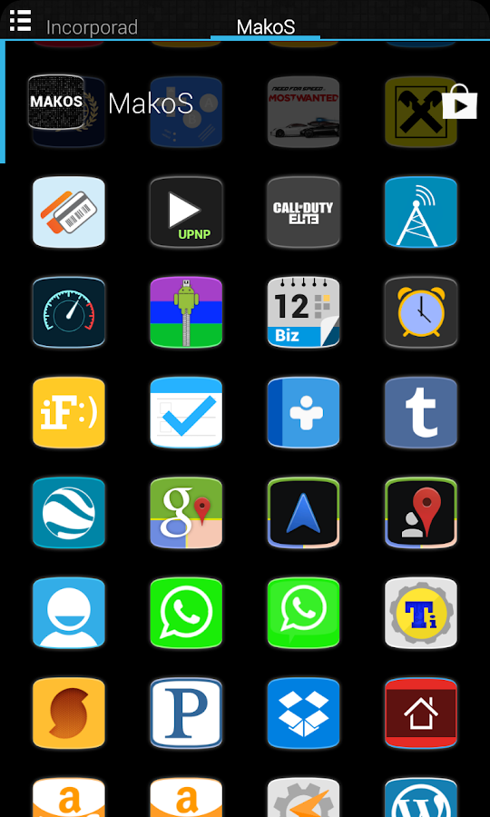 MakoS Apex Nova Theme - screenshot