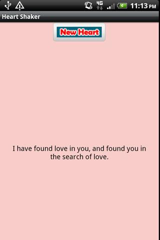 Heart Shaker Love Quotes - screenshot