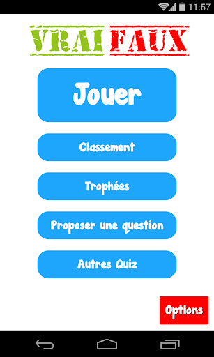 Vrai ou Faux ? Le grand Quiz 2.4 APK MOD screenshots 1