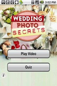 Wedding Photo Secrets screenshot 1
