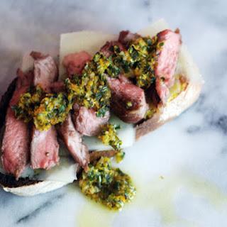 Lamb and Orange-Herb Gremolata Sandwiches