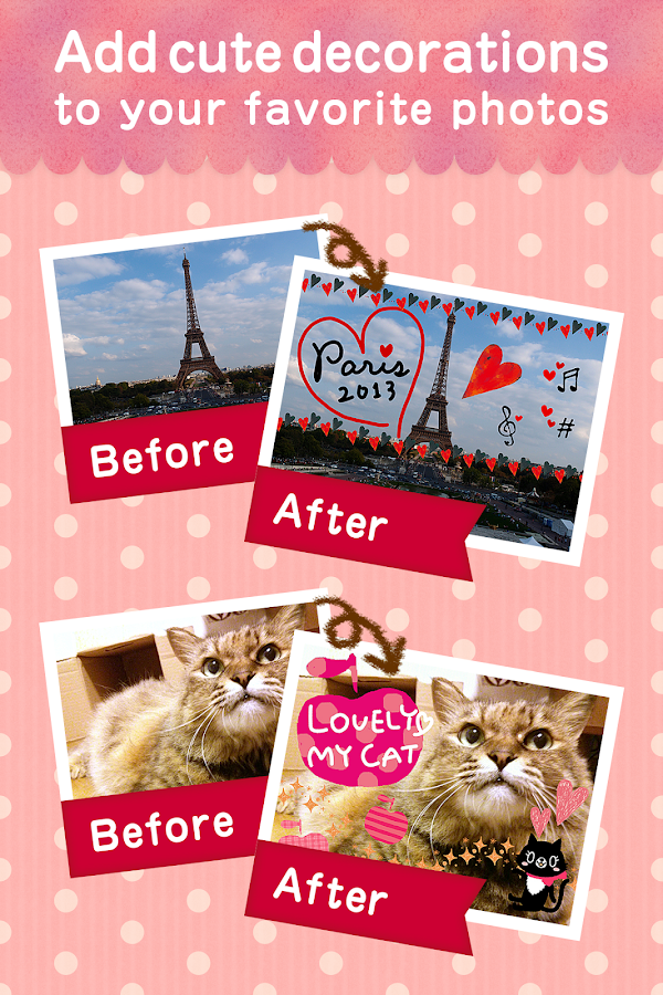 KawaiiPhoto ~Cute camera app~- screenshot