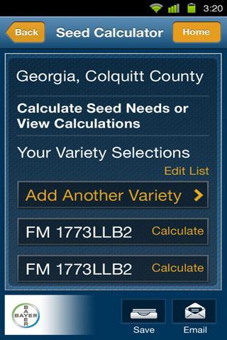 Seed Planner- screenshot
