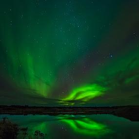 Adventure of bay Sandvik by Guðmundur Hjörtur - Landscapes Starscapes