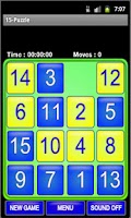 Screenshot of Puzzle 15