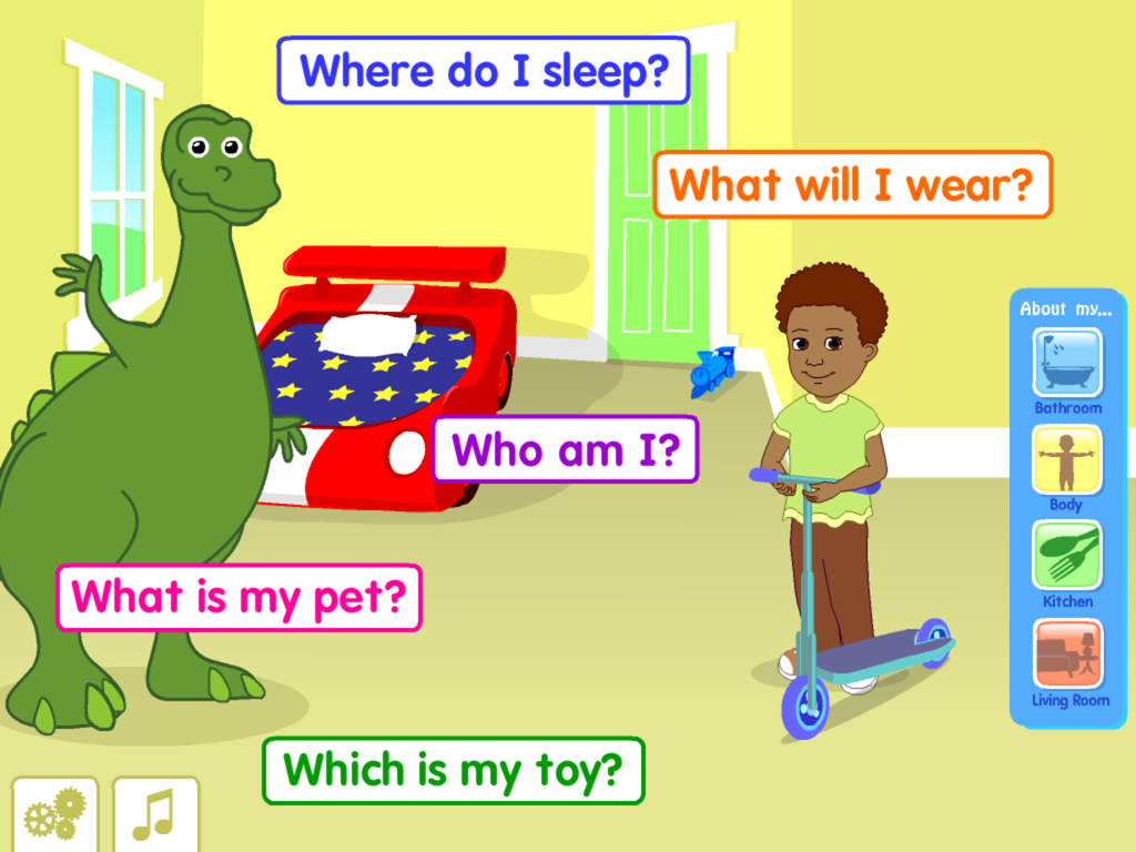 Starfall All About Me - screenshot