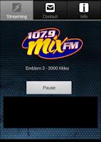 Screenshot of Mix 107.9