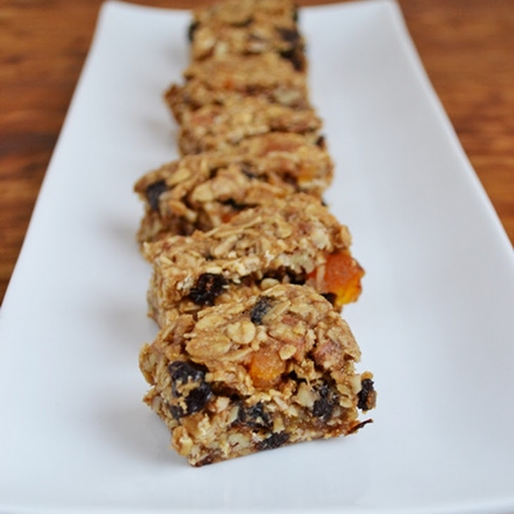 Granola and Walnut Bars Recipe