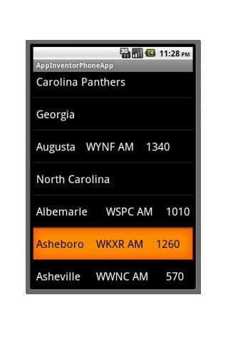 Carolina Football Radio