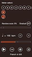 Screenshot of Time Guru Metronome