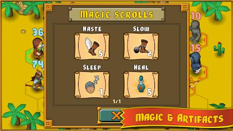 Heroes : A Grail Quest Screenshot 15