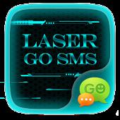 GO SMS LASER THEME