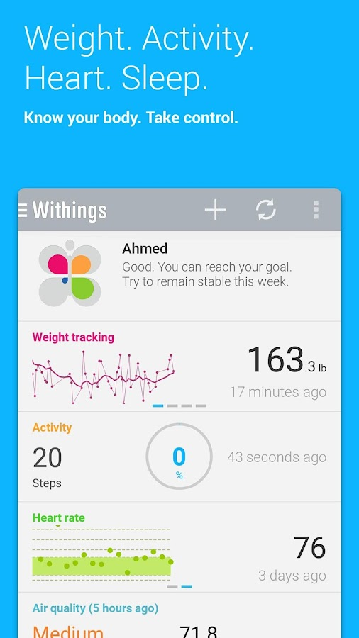 Health Mate - screenshot
