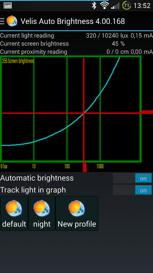 Velis Auto Brightness- screenshot