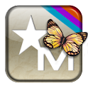 Classic Butterfly -Go Launcher logo