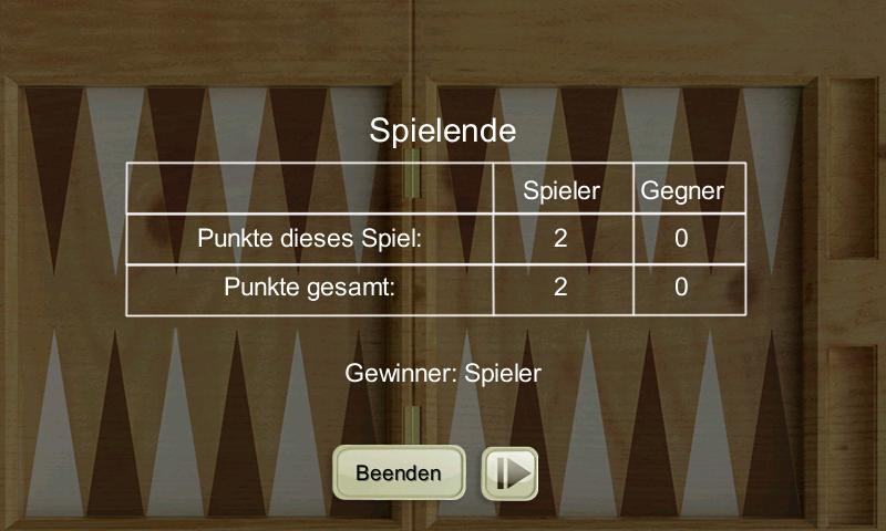 Backgammon LITE - screenshot