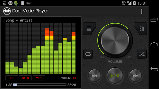 Dub Music Player + Equalizer v1.3