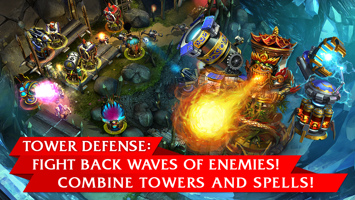 Defenders: TD Origins screenshot #1