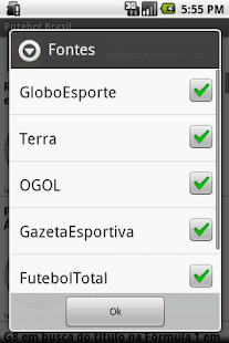 Futebol Brasil- screenshot thumbnail