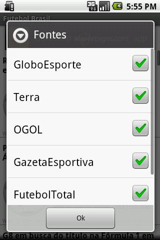 Futebol Brasil- screenshot