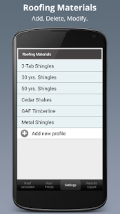 Roofing Calculator PRO- screenshot thumbnail