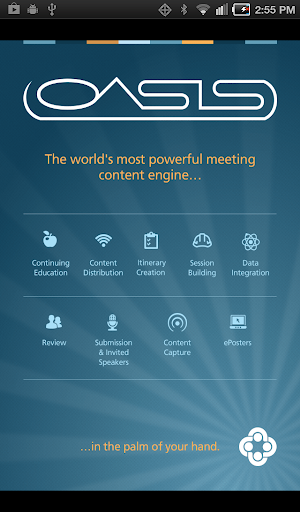 OASIS Mobile Meeting Planner