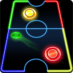 Glow Air Hockey 1.0.6 Apk