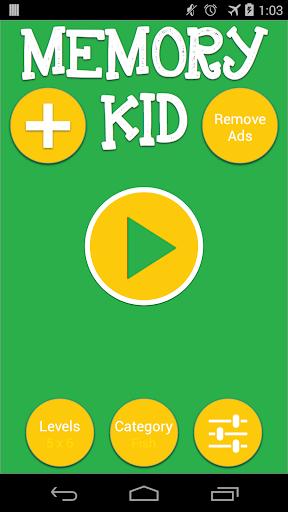 Kid Memory Game