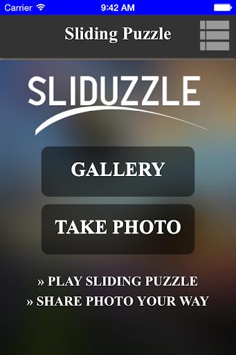 Sliduzzle