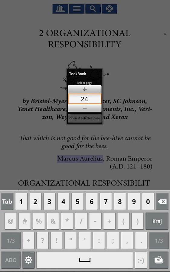 TookBook reader - screenshot