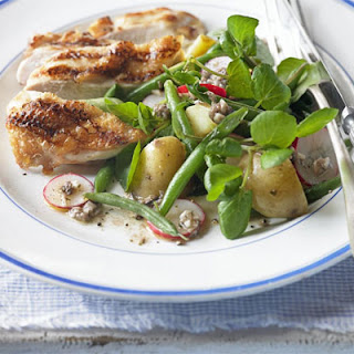 Watercress & Potato Salad with Anchovy Dressing Recipe