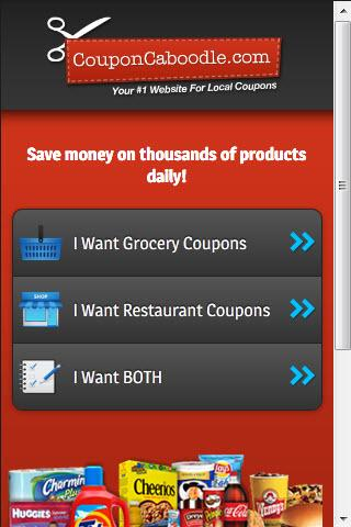 CouponR - Find Deals & Coupons - screenshot