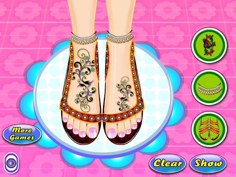 Beauty Salon Nail Games - screenshot