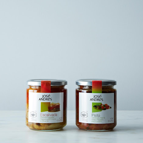 José Andrés Escalivada and Pisto, 2 Jars