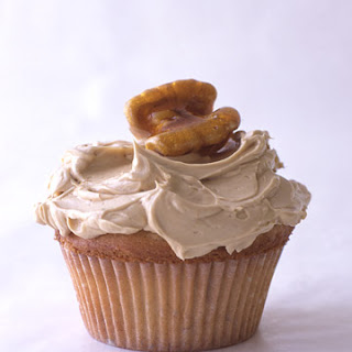 Maple-Walnut Cupcakes.