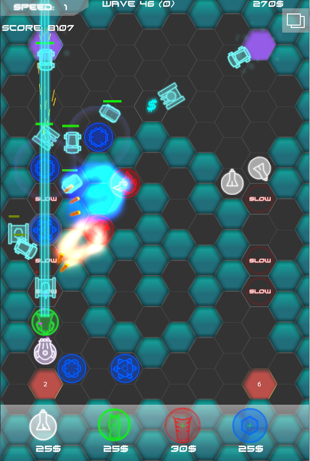 Laser Defense HD - screenshot