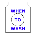 When To Wash icon