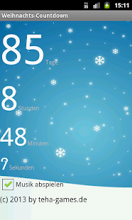 weihnachts countdown apps on google play. Black Bedroom Furniture Sets. Home Design Ideas