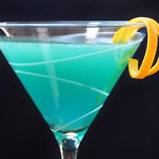 Curacao Martini.
