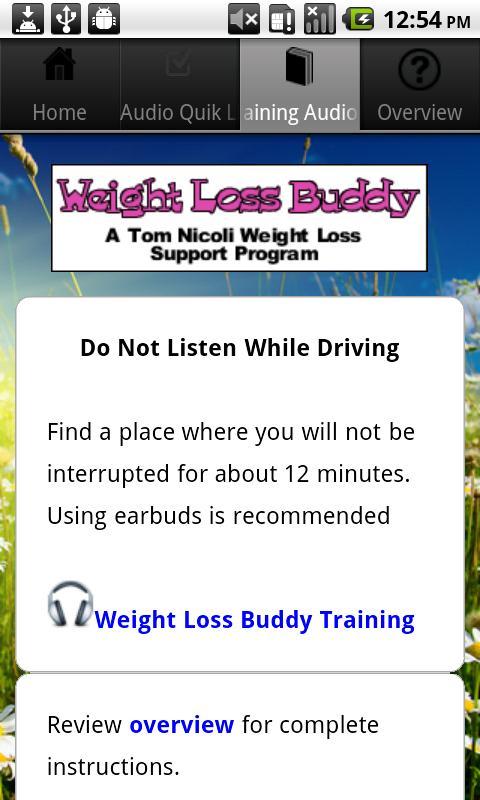 Weight Loss Buddy- screenshot