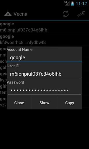 Vecna Password Manager  screenshots 2