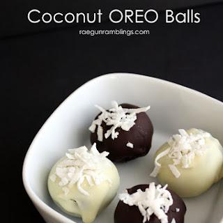 Coconut OREO Cookie Balls.