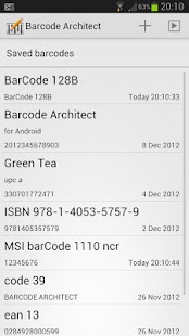 Barcode Architect - screenshot thumbnail