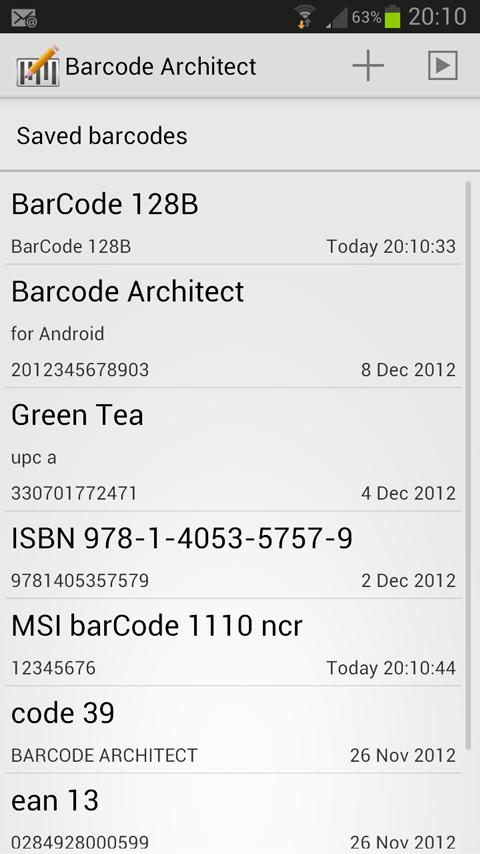 Barcode Architect- screenshot