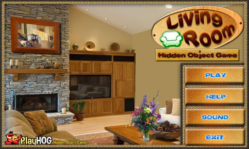 Living Room Free Hidden Object