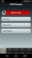 Screenshot of SPOT Connect