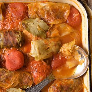Constantinescu Spetler's Stuffed Cabbage Rolls
